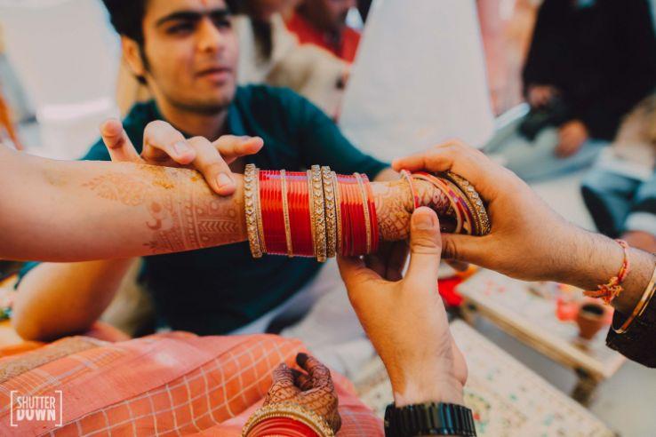 chura ceremony   indian wedding rituals