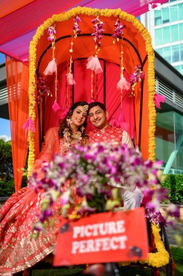 indian wedding photography | happy couple |