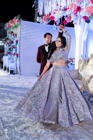 bridal lehenga for engagement ceremony