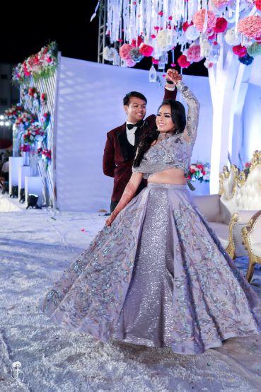 bridal lehenga for engagement ceremony