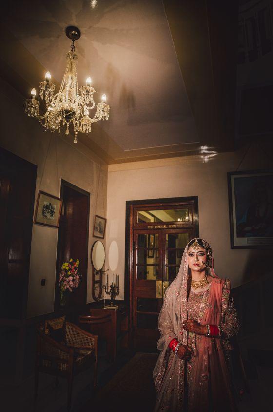 indian bride   indian bridal lehenga  