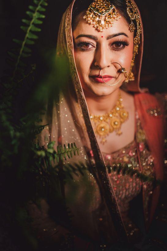 bridal portraits | indian wedding photo shoot ideas