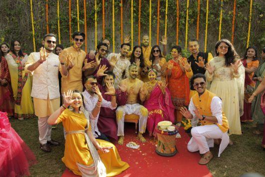 family photography ideas | indian wedding photography | haldi ceremony |