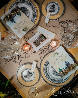 Table setting | Romantic dinner dates | Staycation ideas