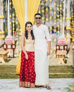 Couple portraits | Minimal weddings | Outdoors wedding decor