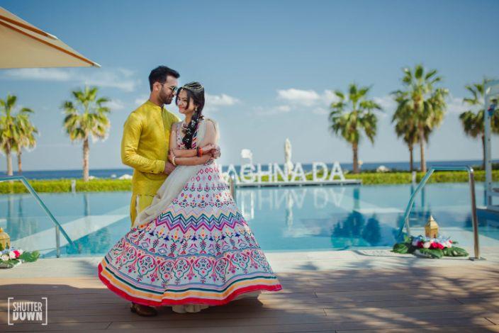 bridal lehenga details   beautiful couple poses