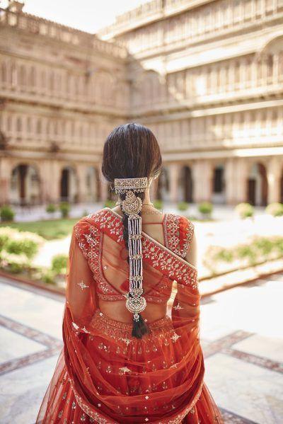 Bridal hairstyle | Bridal Choti | Bridal Braids | bridal Jewelry | Bridal jewellery | Bridal hair jewelry