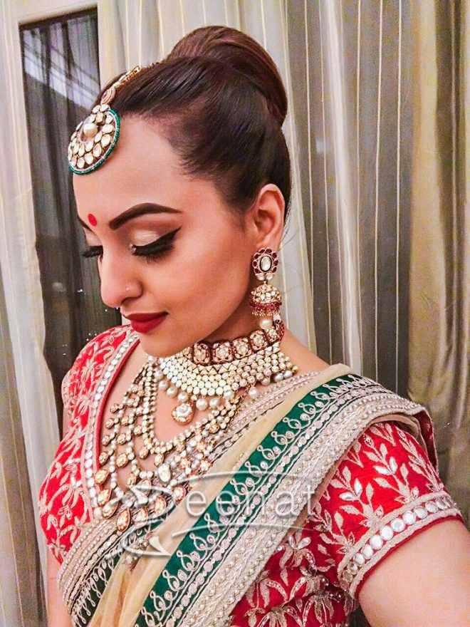 Bridal Jewellery | Bridal Hair jewellery | Round face | Maangtika