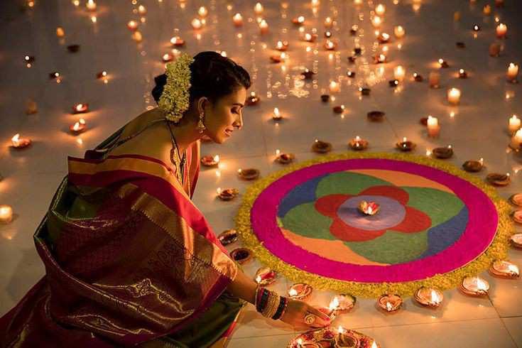 diwali rangoli   Diwali decoration ideas