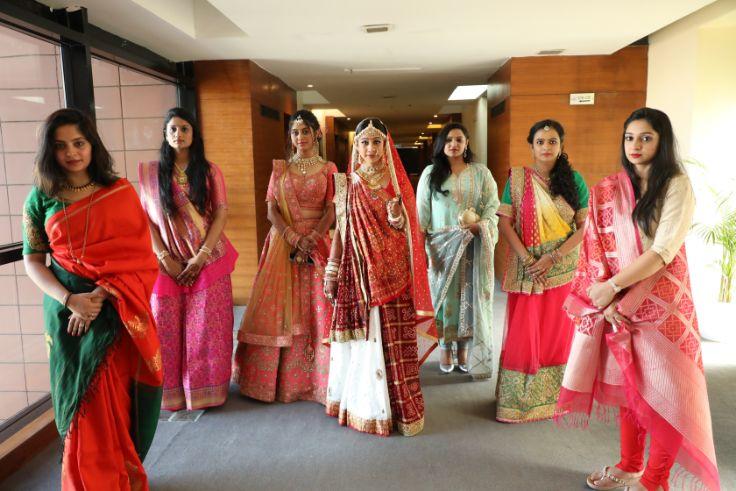 indian bridesmaid , bridesmaid moment , pune wedding | proposal ideas