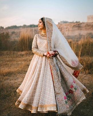 Bridal wear | Anarkali suit | Bridal inspiration
