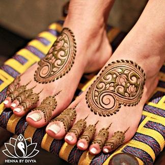 Bridal trend 2020 | Foot henna designs | Bride to be