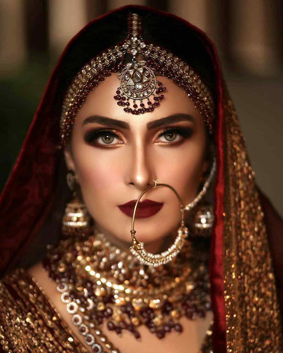 Bridal look | Bridal Nath | Bridal makeover | Naath | Bridal makeup | Bridal Jewellery