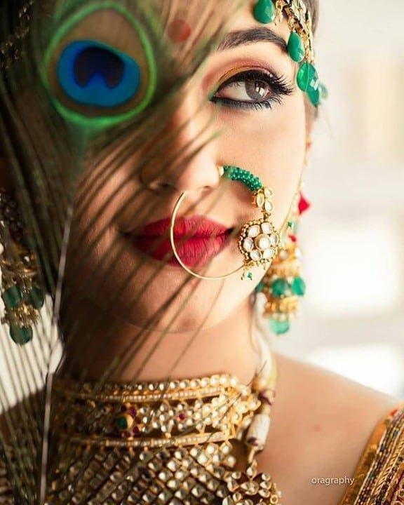Bridal Nath | Bridal Naath | Bridal Jewelry | Bridal Jewellery | Bridal Makeup | Bridal Portrait