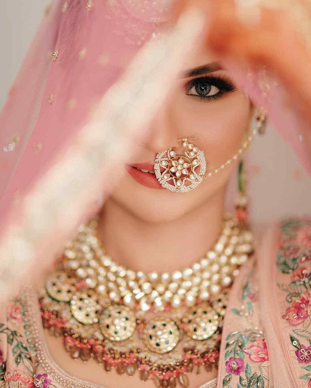 Bridal Jewellery | Bridal Jewelry | Bridal Nath | Bridal Naath | Bridal eye makeup