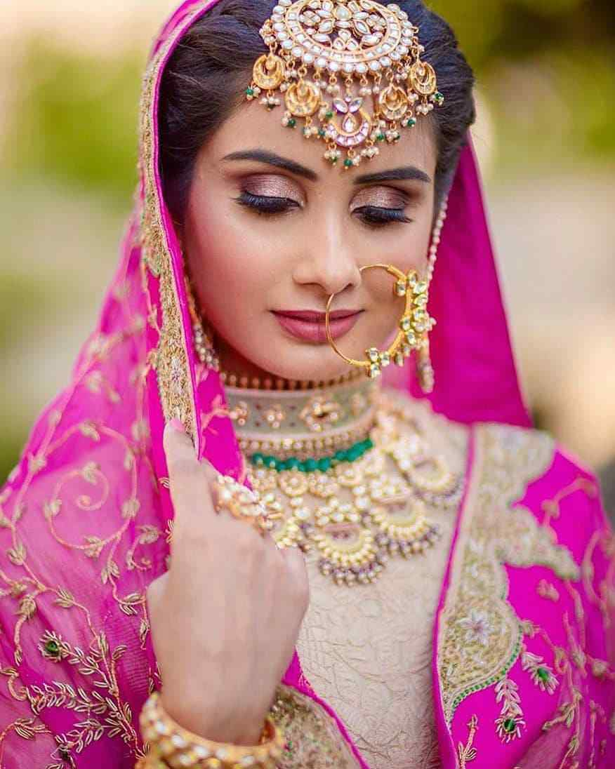 Bridal nath | Bridal Naath | Punjabi Bride | Bridal jewelry | bridal jewellery | wedding ideas