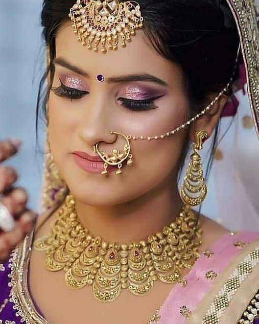Bridal nose ring | Bridal Nath | Bridal jewelry | Bridal makeup | Bridal 2020 | Minimal Jewelry