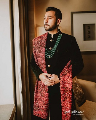 Indian groom style