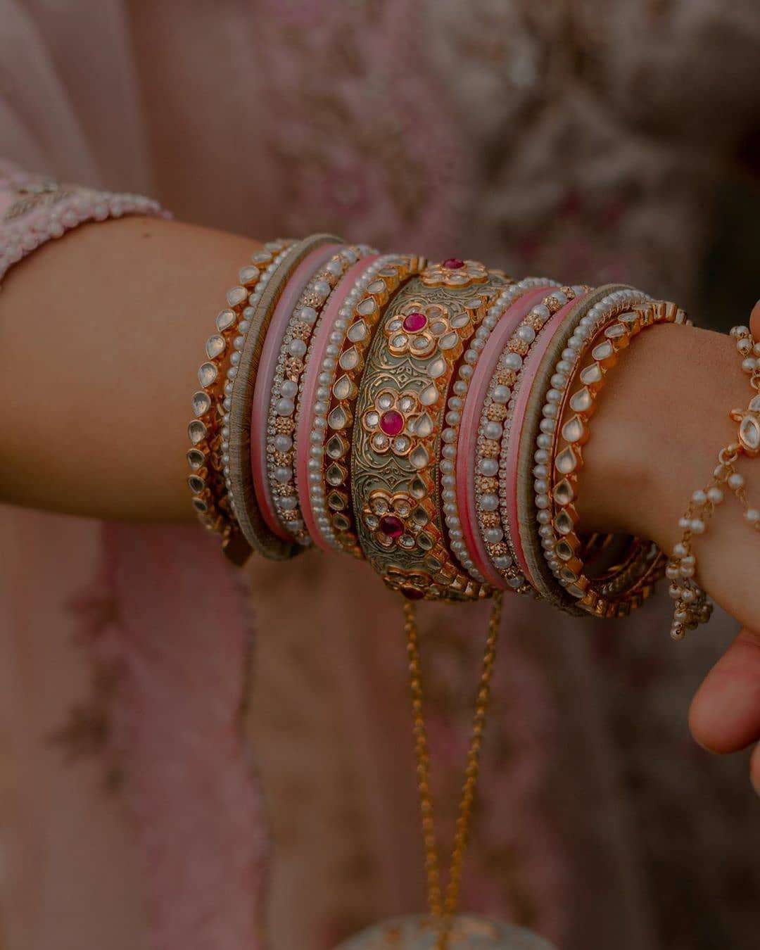unique bridal bangles