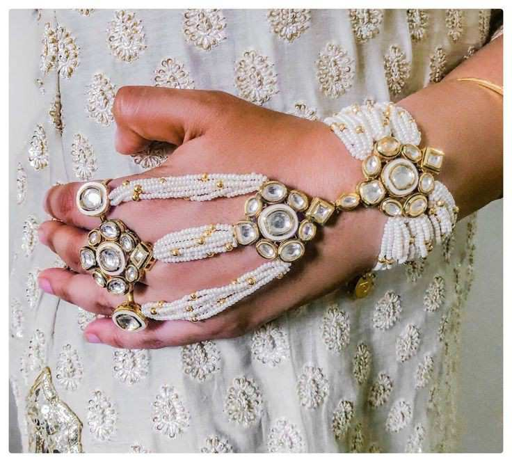 bridal jewellery | bridal haathphool