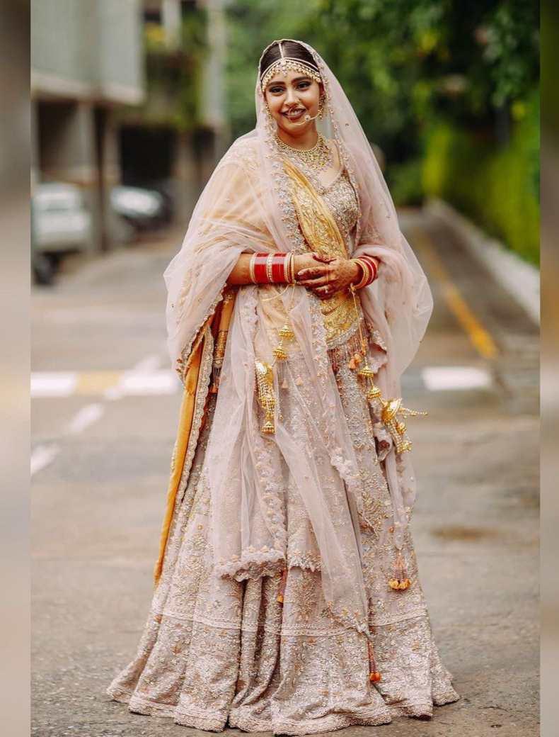 pastel brides | pastel lehenga