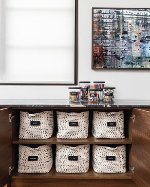 Organizers | New home | Jute baskets
