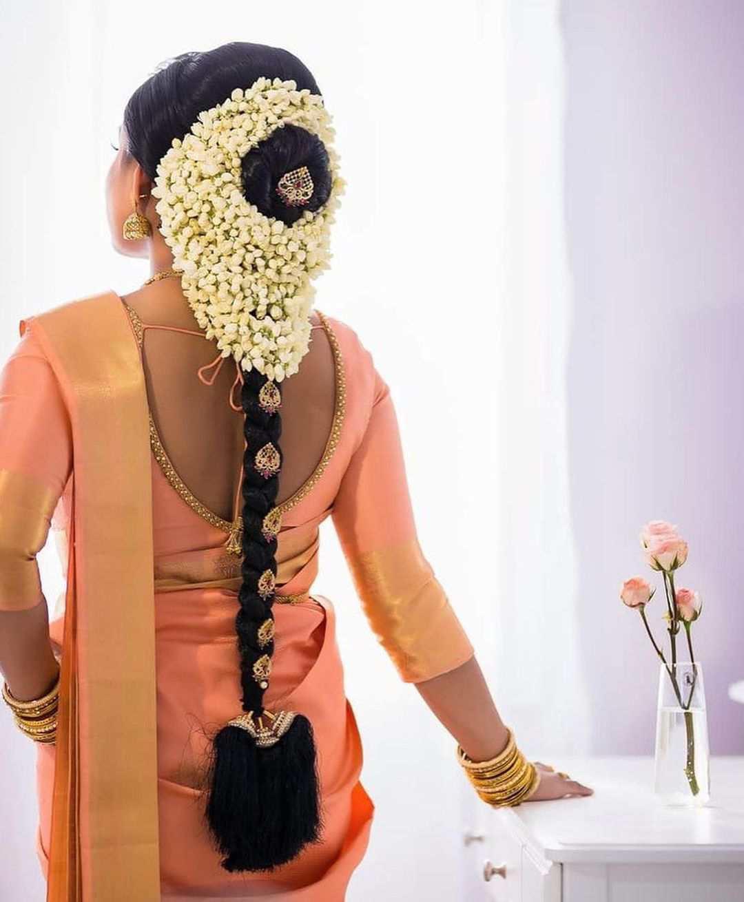 bridal baids   indian bride hairstyles