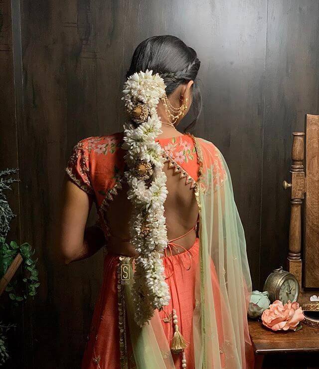 Bridal gajra   Bridal hair accessory