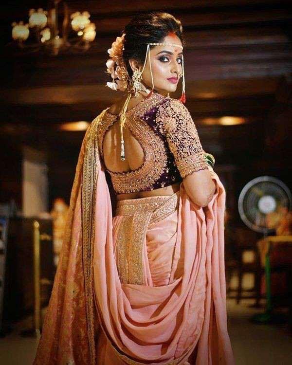 bridal look | bridal blouse back