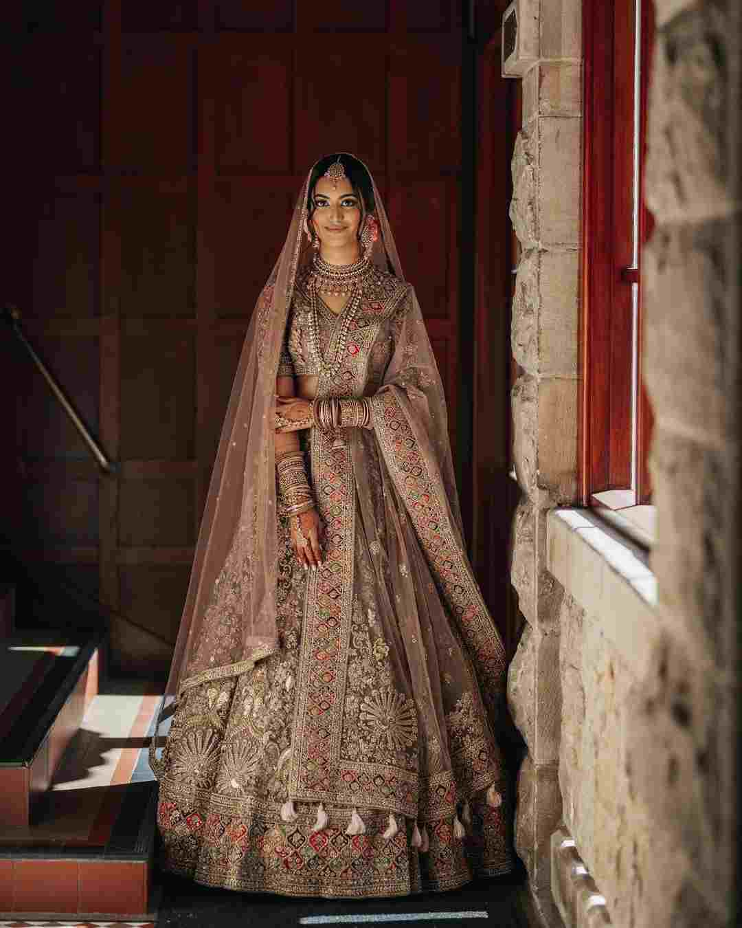 indian brides   bridal lehenga