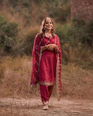 Salwar suit | Indian bride | Lohri oiutfits