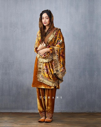 Velvet suit | Punjabi Suit | Newlywed | New Bride | First lohri