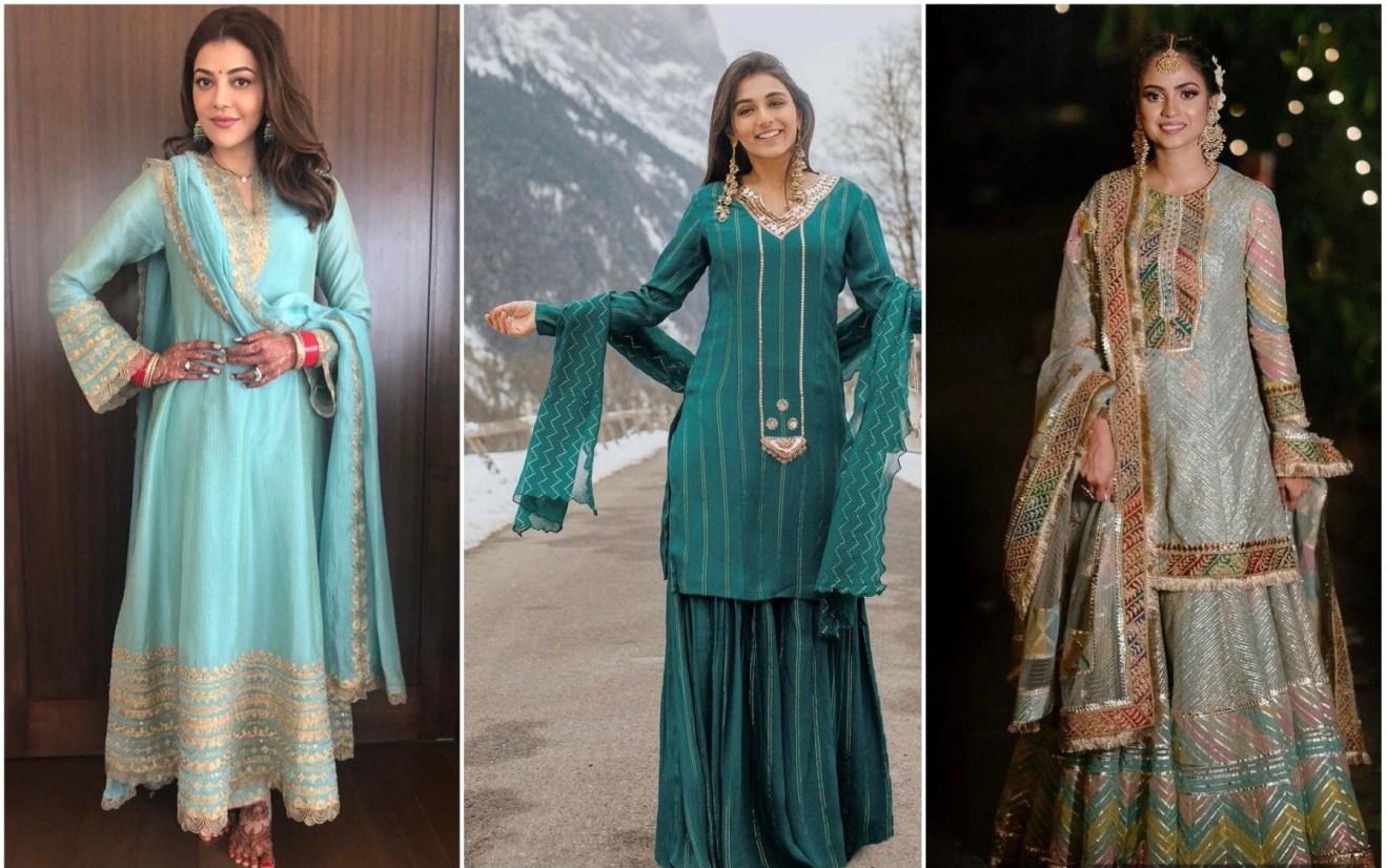 Punjabi suits | First Lohri Party