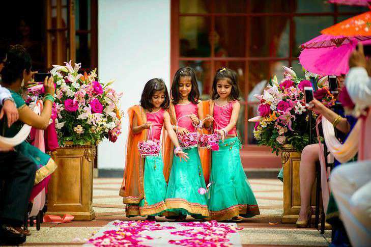 wedding duties | kids in Indian weddings