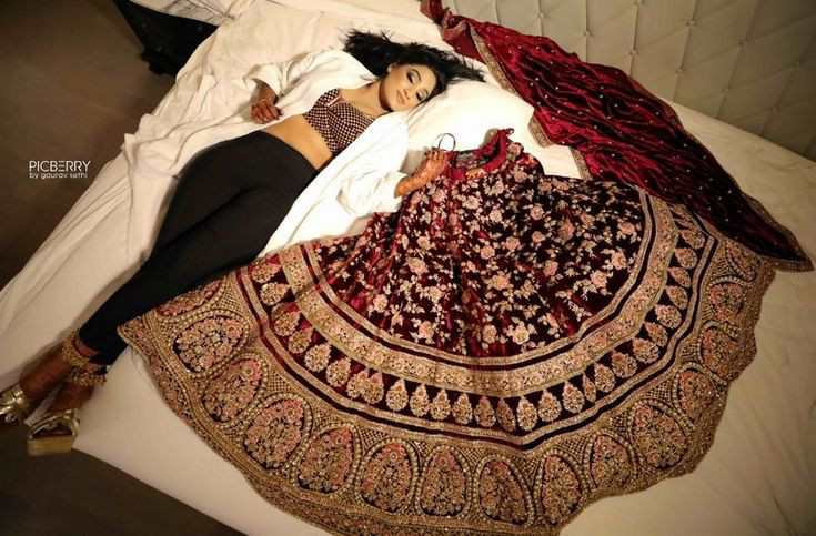 brides sleeping portraits