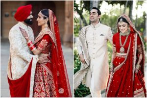 red bridal lehengas | red lehenga | bridal lehengas