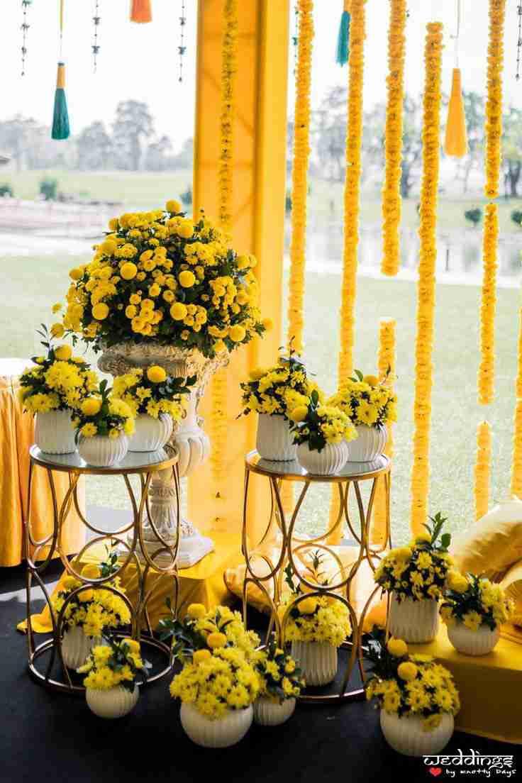floral decor | Indian Wedding