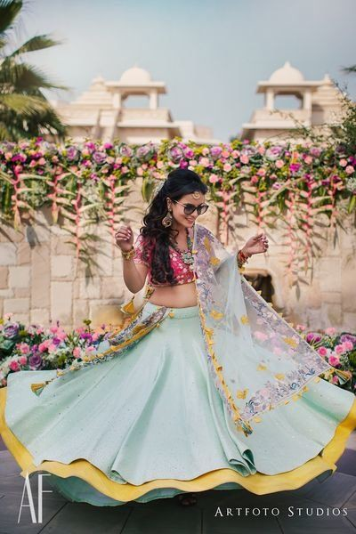 unique lehenga designs | bridal twirl