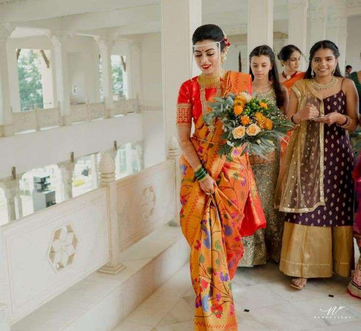 south indian bride |