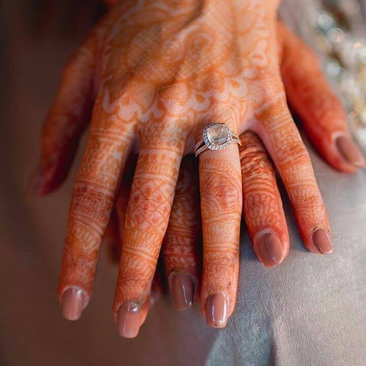 ring | bridal nails