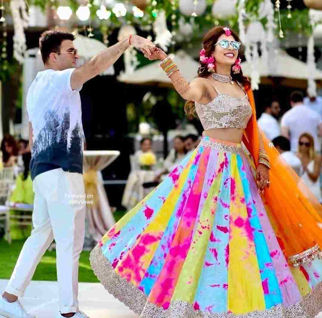 couple dance |bridal lehenga