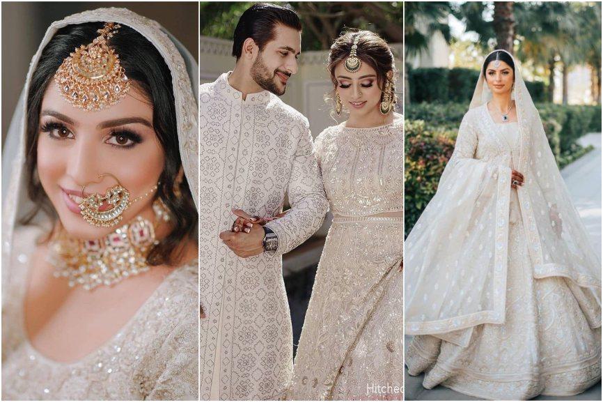 white wedding | indian wedding | indian white wedding | wedding trends | bridal trends | 2021 weddings | intimate weddings
