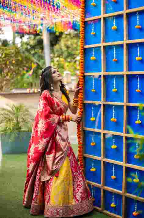 bridal trends | colourful mehendi decor ideas