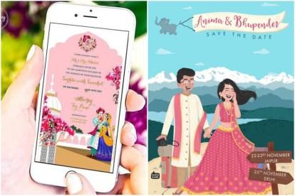 wedding trends | covid weddings | 2021 weddings | wedding invitations | E-invites | Indian brides | bridal trends
