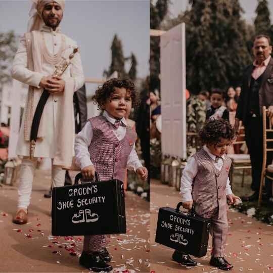 groom entry ideas