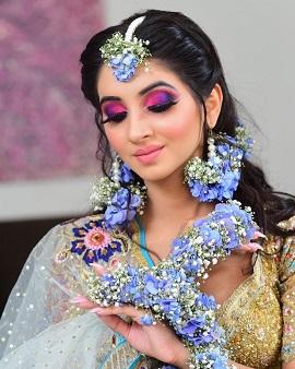 Mehendi makeup looks for Indian brides