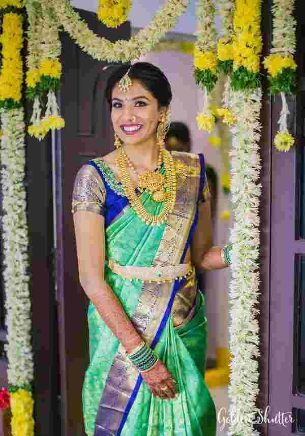 happy brides | wedding saree | kanjivaram sarees