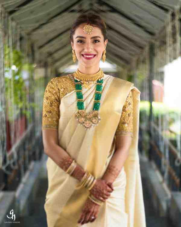 pastel brides | wedding saree | kanjivaram sarees