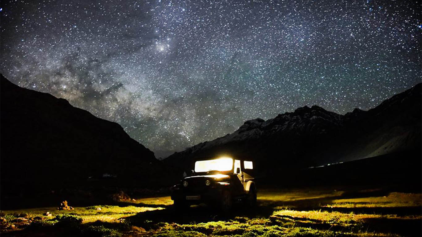 Kaza Himachal Pradesh Astrophotography