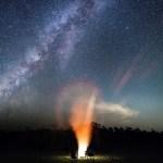 Milky Way camping trip Everglades